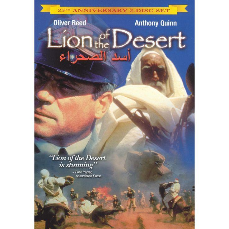 Lion of the desert:25th anniversary e (Dvd)