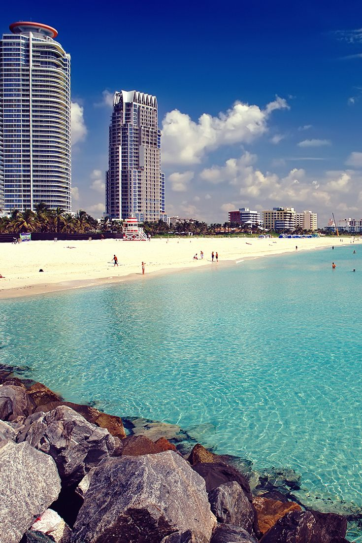 #3 - Miami, FL - While northern states struggle to shake off winter, it's tanning weather on South Beach. Check the Travel Hacker blog for travel tips for March and April breakers.