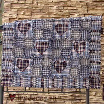 HandWorkDecor - Интернет-магазин декора интерьера в стиле Шале и Кантри , Rag Quilt