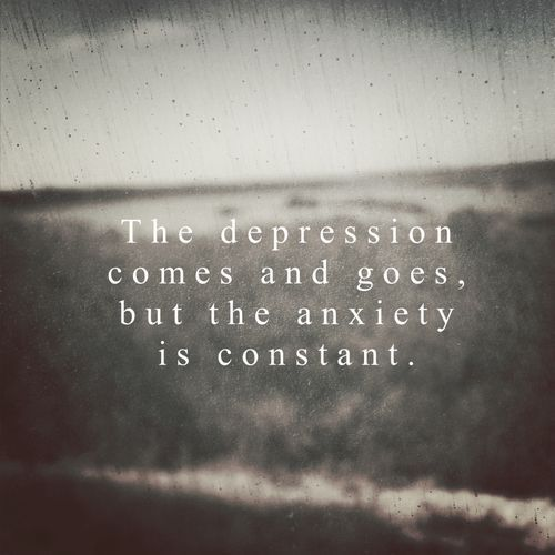 Anxiety. A word that's overused by people who have no idea how impacting it can be on trying to have a normal fucken life.