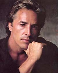 "Don Johnson - best known as ""Sonny"" on Miami Vice. born 1949. Movie actor and recording artist."