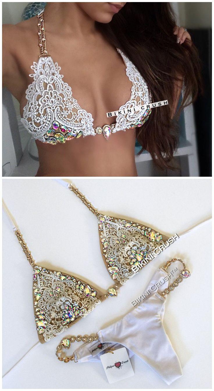 2017 Custom made Handmade Bead Bikini,Conjoined bikini,bikini sets,sexy