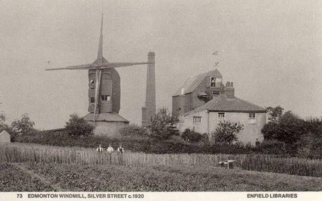 Windmill at Silver Street, 1920