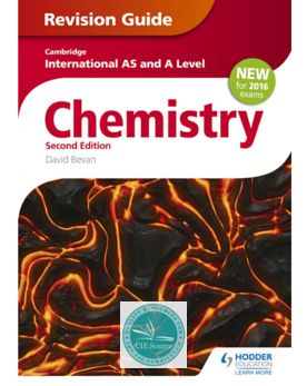 9781471829406, Cambridge International AS/A Level Chemistry Revision Guide 2nd edition - CIE SOURCE