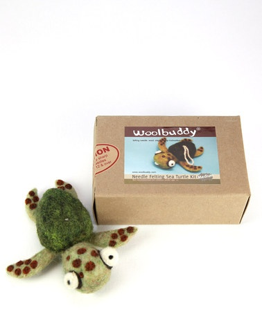 Wow, darling!! Take a look at this Woolbuddy Sea Turtle Needle Felting Kit by Woolbuddy on #zulily today!