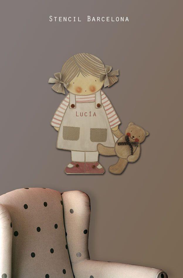 Siluetas de madera para decorar habitaciones infantiles - Habitaciones infantiles barcelona ...