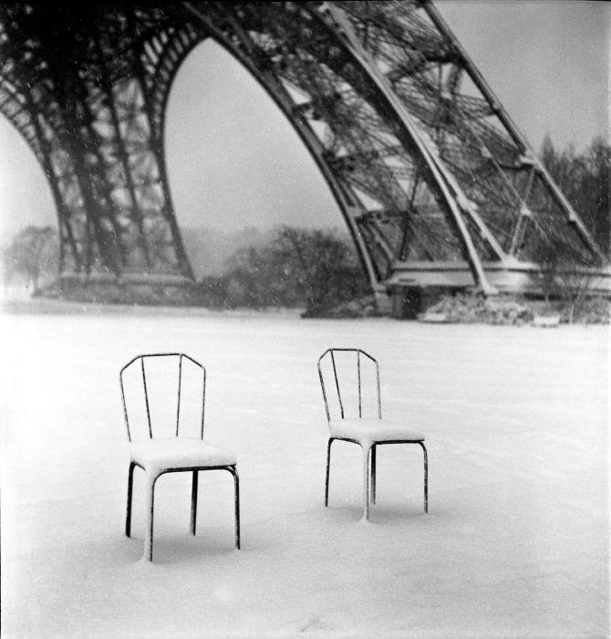 © Sabine Weiss: Eiffel Towers, Paris 1952, B W Photography, Bw Photography, 1952 Sabine, Tours Eiffel1952, Sabine Weiss, White Photographers, Photography Inspiration
