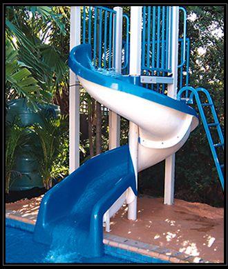 King's Fibreglass Pool Slides