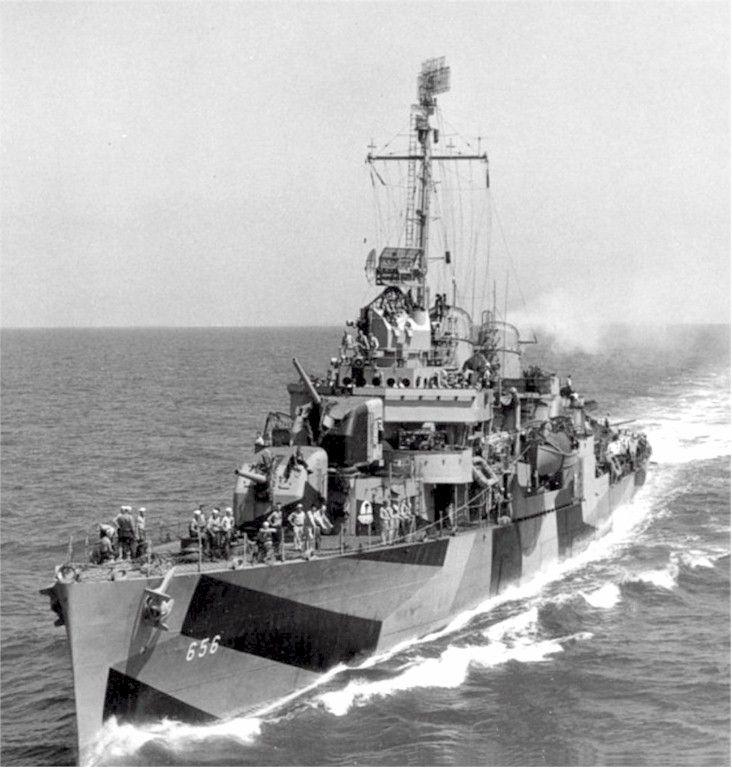 USS Van Valkenburgh (DD 656)