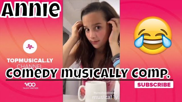 Annie Bratayley - The Best Comedy musical.ly Compilation 2016 - YouTube