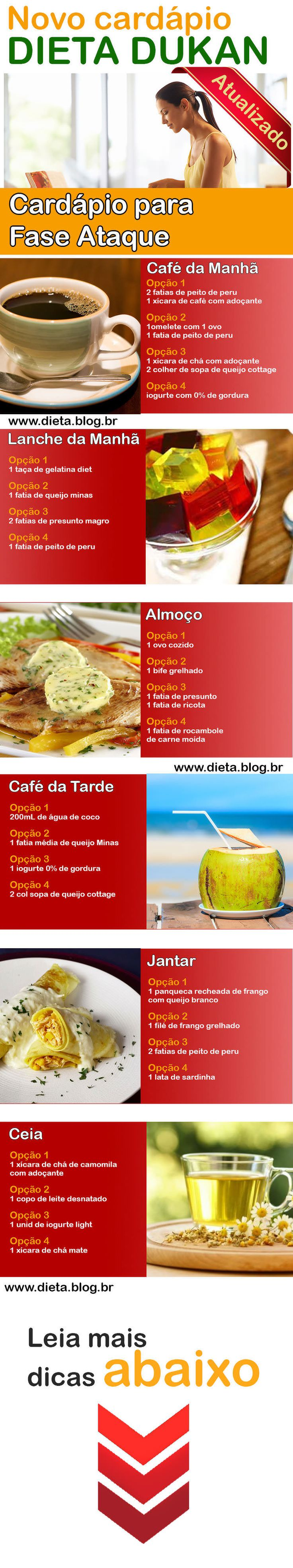 Nova Dieta Dukan Passo a Passo Cardápio perca 12kg