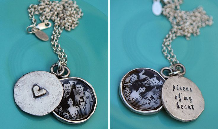 Vntage style locket with a personalized message for Mother's Day   The Vintage Pearl