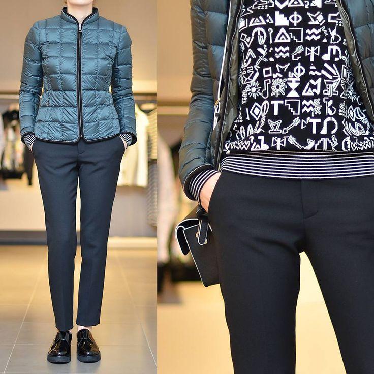 «: Куртка #fay коллекция осень - зима 2015/16 Джемпер #kenzo коллекция осень - зима 2015/16 Брюки #redvalentino коллекция осень - зима 2015/16  Сумка…»