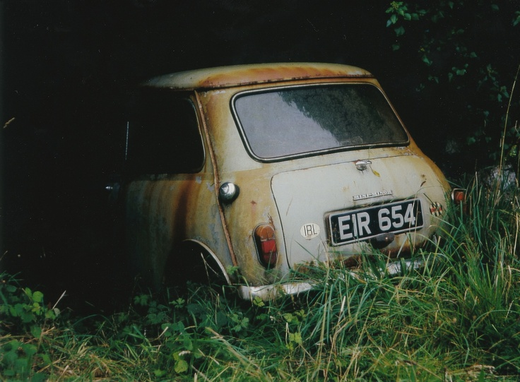 Mini In Barn Ireland 1990