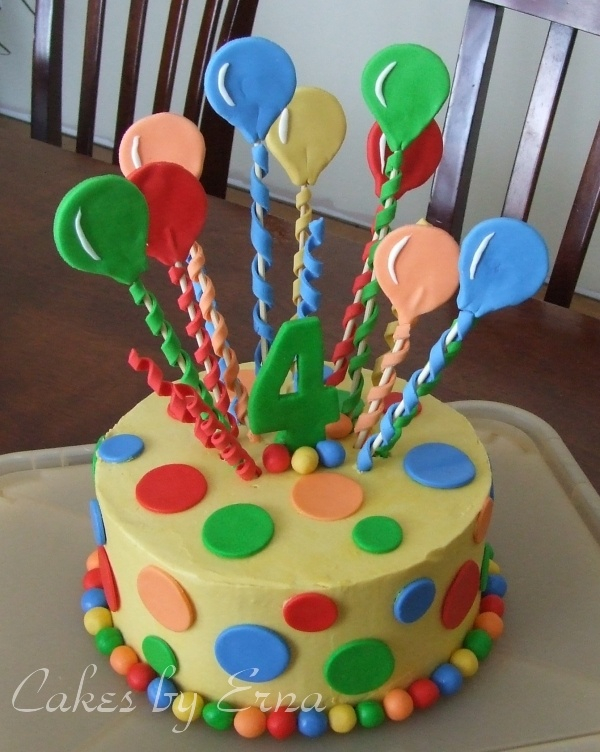 Images Of Birthday Cake And Balloons : Best 25+ Balloon cake ideas on Pinterest Balloon ...