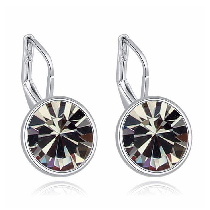 Original Swarovski Bella Evening Dressed Crystal Pierced Earrings //Price: $10.95 & FREE Shipping //     #fashion