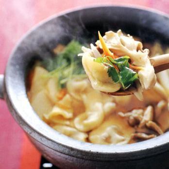 重野佐和子さんのひっつみ鍋