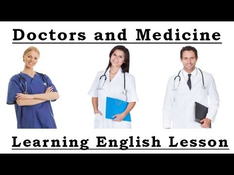 Learn MEDICAL Vocabulary in English - YouTube