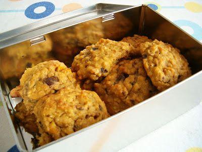 Os temperos da argas: Cookies de abóbora e aveia