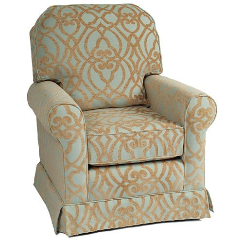 buckingham glider in choice of fabric