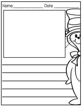 """Simple writing paper print out for student responses after reading the beloved story """"The Cat in the Hat"""" by Dr. Seuss. There are two versions that are included, one for. primary writers and one for intermediate writers."""