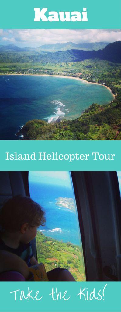 Kauai Island Helicopter Tour with Kids, Hawaii