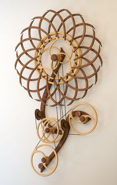 Kinetic Sculpture by David C. Roy - All Sculptures | Wood That Works | Kinetic Art - Phenomenon