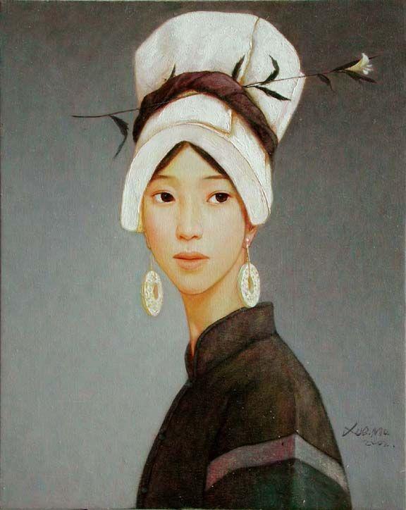 Xue Mo nació en la Mongolia Interior y en la actualidad reside y trabaja en Pekín. Se graduó en 1991 con una licenciatura de Bellas Artes (pintura), y se dedicó a dar clases en Bellas Artes en Bei...