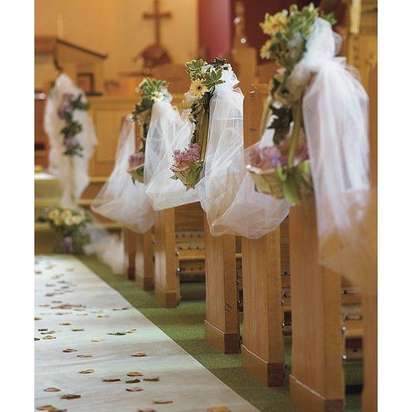 Tule voor decoratie kerk, trouwzaal, trouwauto, tuin- en strandhuwelijk