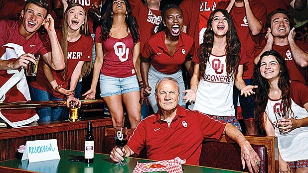 Barry Switzer Laughs Last. Great story for Sooner fans.