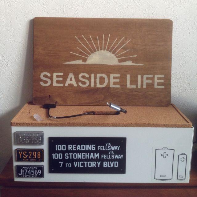 sasukeさんの、IKEA,カリフォルニアスタイル,西海岸,セリア,賃貸,一人暮らし,充電ステーション,ベッド周り,のお部屋写真