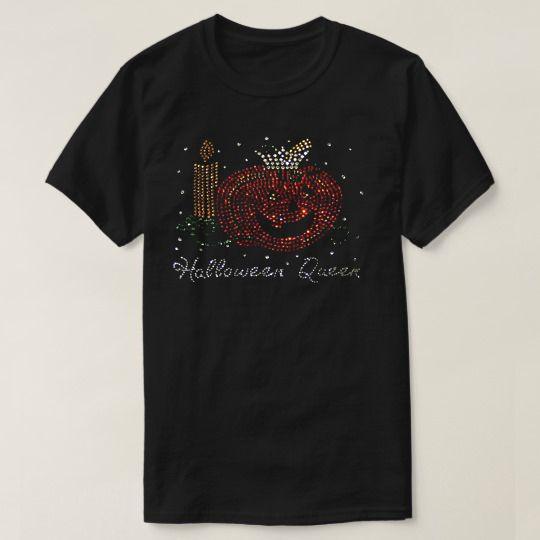 Halloween Queen Rhinestone Custom Shirts