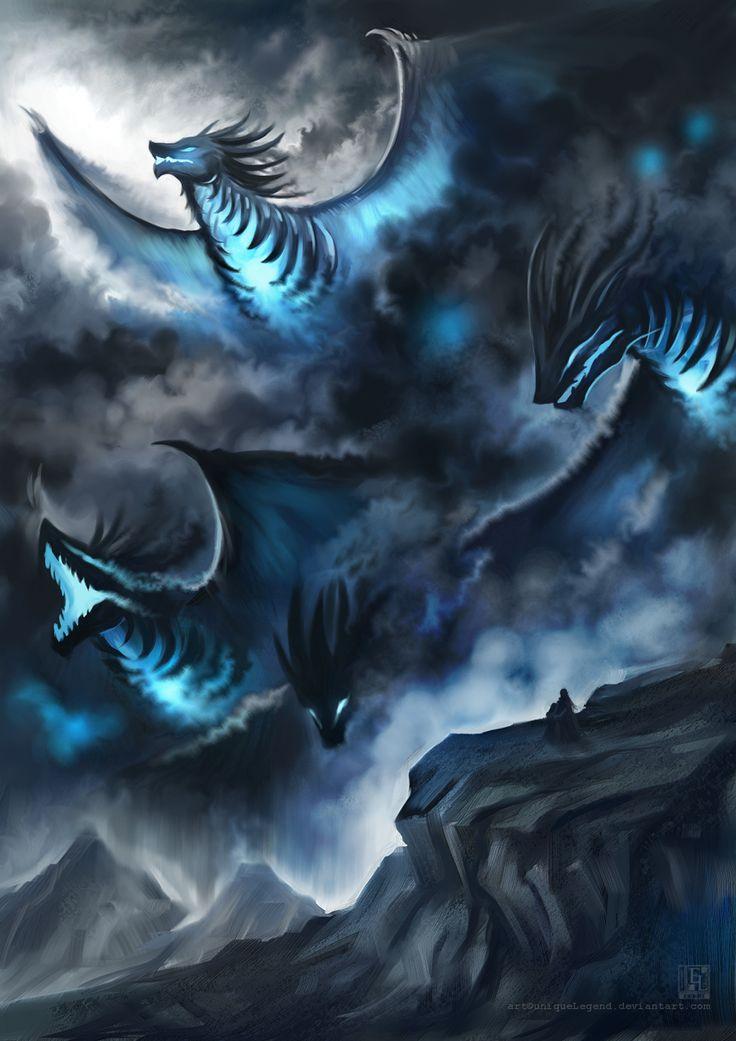 Dragon S Crown Gets New Character Art Screens Tarot: Top 25 Ideas About Lightning Dragon On Pinterest