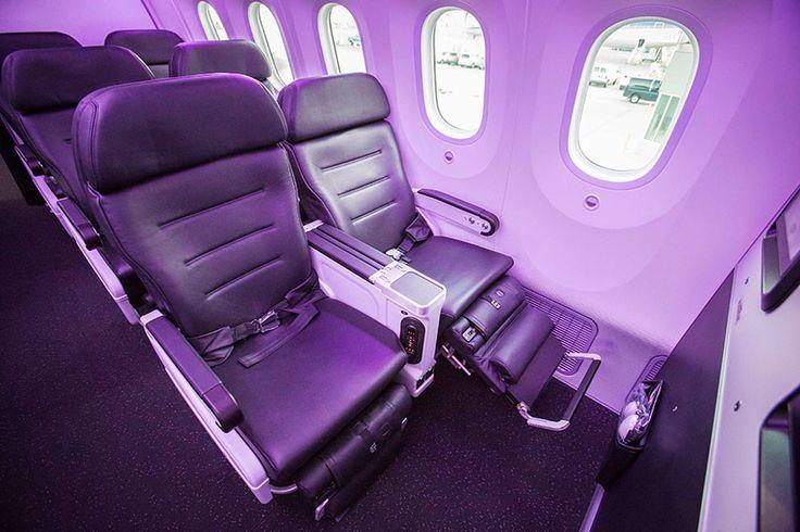 Interior of our new 787-9 Dreamliner. #AirNewZealand #AirNZ #NewZealand