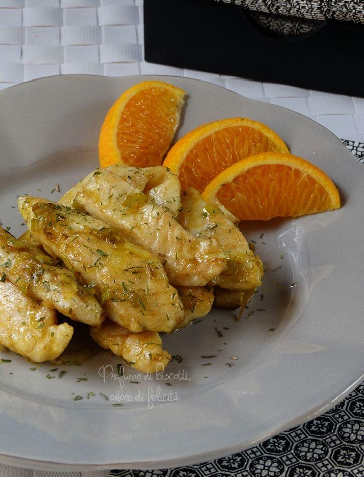 pollo al mandarino