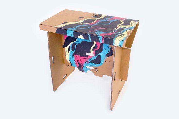 refold cardboard standing desk new zealand
