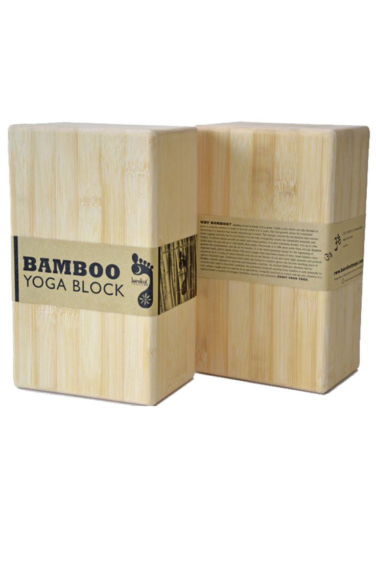 Bamboo Yoga Block Lights Yoga Block And Products