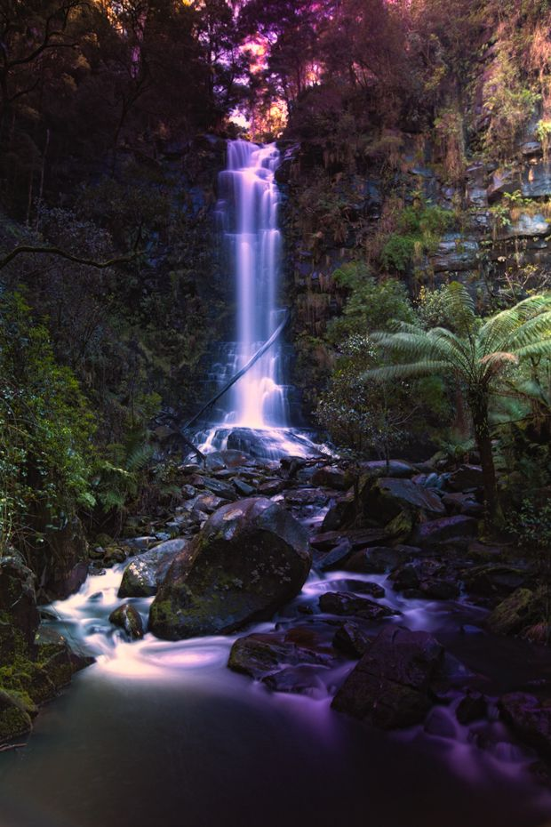 Erskine Falls, Lorne on the Great Ocean Road, Australia #gadventures http://www.travelmagma.com/australia/things-to-do-in-melbourne#.VSUOv2PI-1E