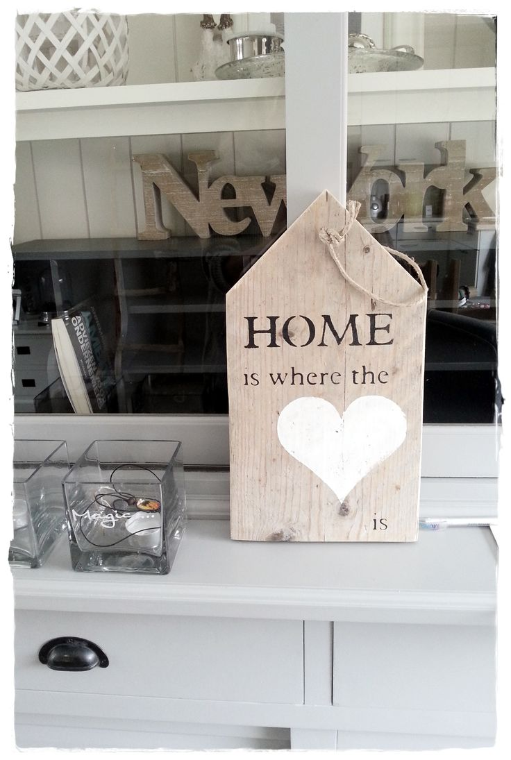 HOME is where the ♥ is