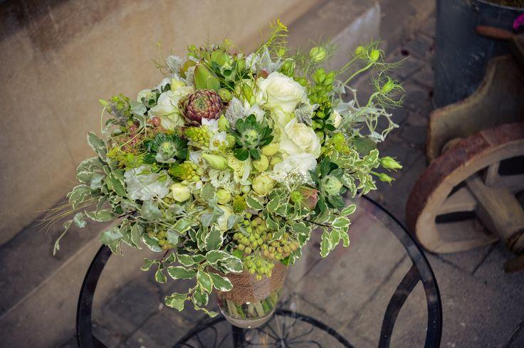 Rustic wedding bouquet / Menyasszonyi csokor