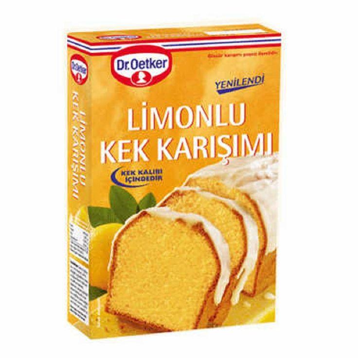 Dr.Oetker Limonlu Kek Karisimi / Lemon Cake Mix - 440 gr