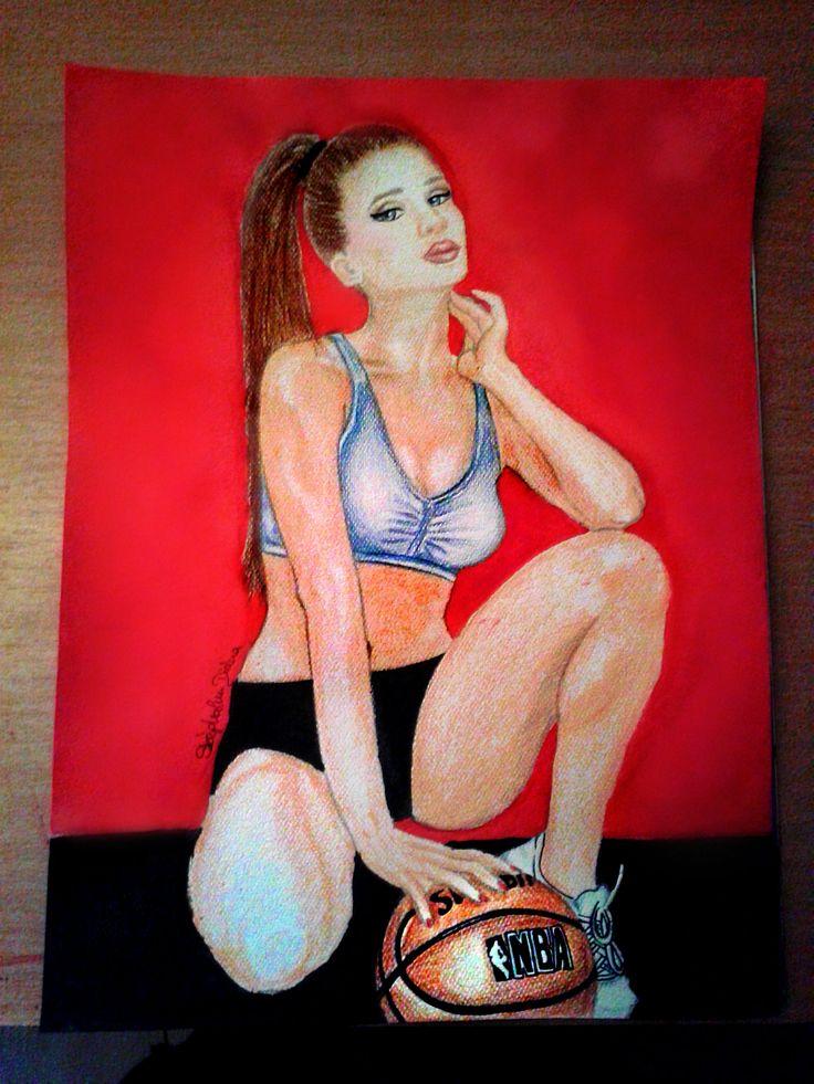 #basketball #nba #girl #art #drawing