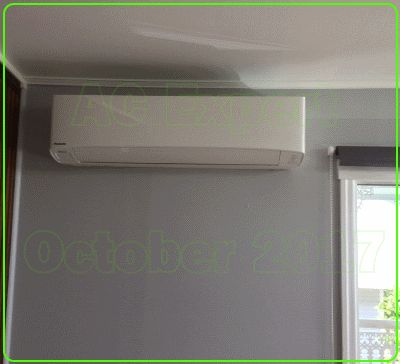 One of our famous October Panasonic Installs. If there was an award for air conditioning we would win it every year