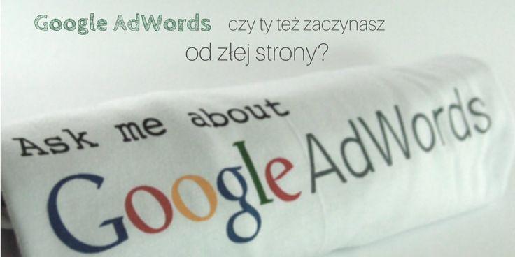 Czy na pewno dobrze używasz Google Adwords? Sprawdzisz to czytając nasz artykuł. http://bit.ly/adwords-zle-praktyki