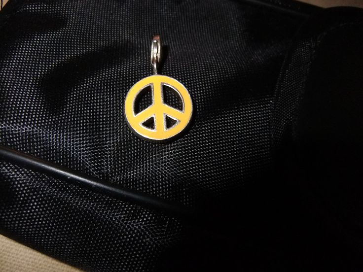 Authentic Thomas Sabo Peace Sign Charm/Pendant (RARE ITEM) by ThriftyMidge on Etsy
