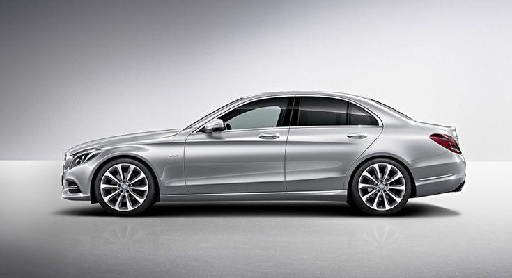 Dit is de Edition 1 uitvoering van de nieuwe Mercedes C-klasse