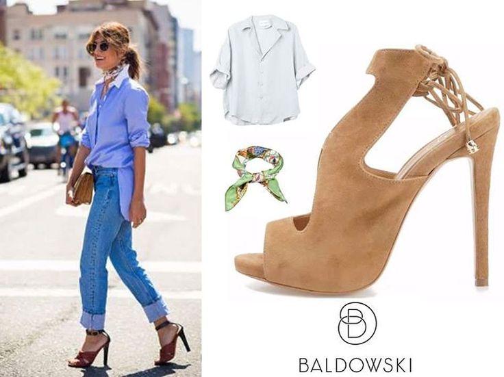 Get inspired with @baldowskiwb 💄#baldowskiwb #baldowski #polishbrand #shoes #shoeaddict #shoelovers #heelslovers #fashionoutfit #fashioninspiration #lookoftheday #outfitoftheday #streetwear #streetstyle #streetfashion #getinspired #shopnow #springsummer #suedeheels #mondayvibes