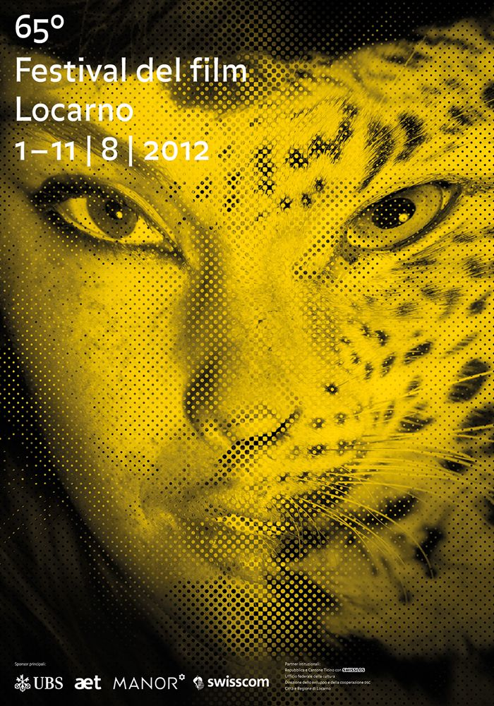 Poster F4 of the 65° Festival del film Locarno