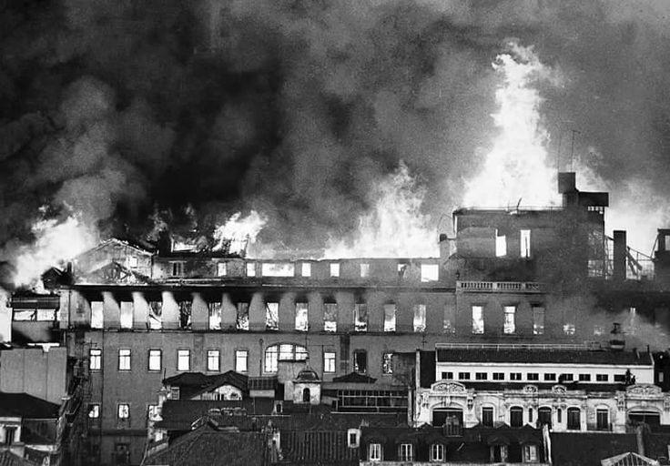 Incendie du Chiado le 25 août 1988