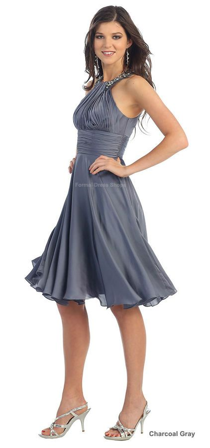 NEW SHORT BRIDESMAID GRADUATION HOMECOMING DRESS COCKTAIL PROM SEMI FORMAL  DANCE HOMECOMING DRESS  80ec7cde0